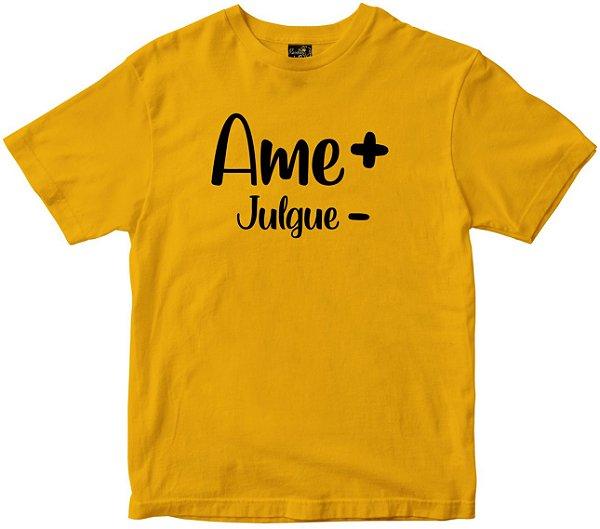 Camiseta Ame + Julgue Menos Rainha do Brasil