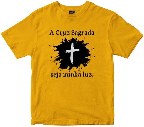 Camiseta A Cruz Sagrada Rainha do Brasil