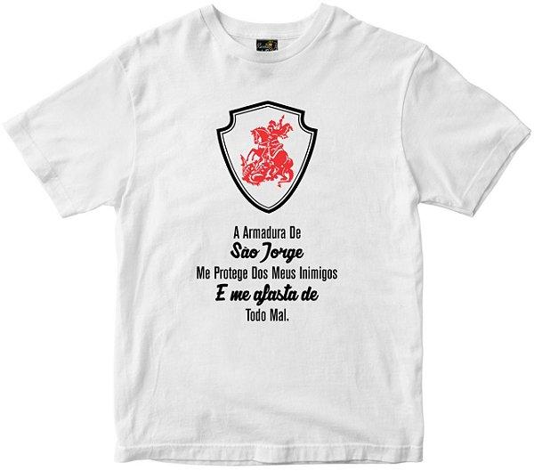 Camiseta Armadura de São Jorge Rainha do Brasil