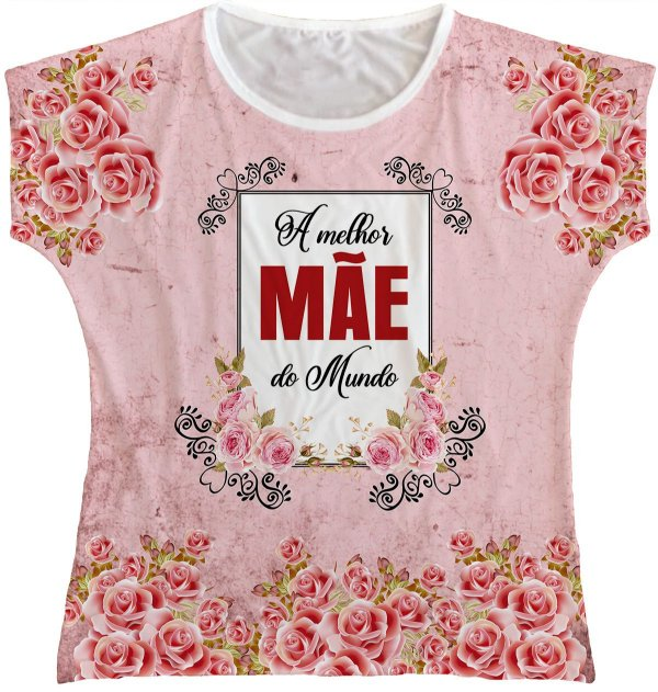 Blusa Feminina Dia das Mães Rainha do Brasil