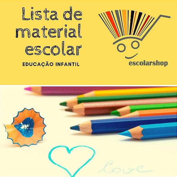 Lista de Material - Infantil 5