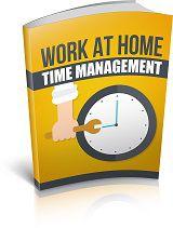 Gestão do tempo de trabalho em casa