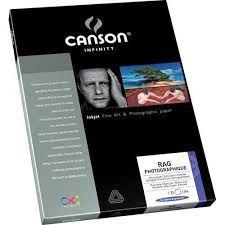 Papel Fotográfico Canson Rag Photographique 310g A4 25folhas