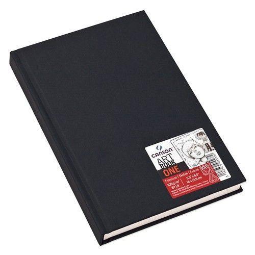 Bloco Sketchbook Canson One 98fls 100g/m2 A6(10,2cmx15,2cm)