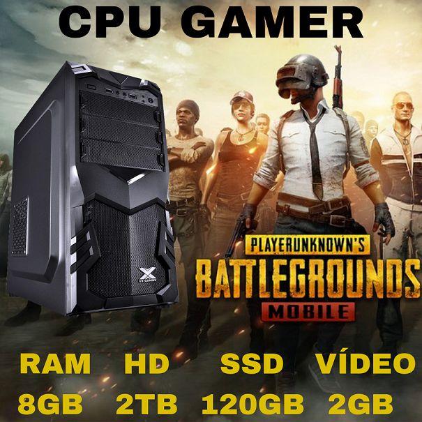 Nova : Computador Gamer i5 8gb Ram Ddr3 Hd 2tb Ssd 120gb Video 2gb Windows 07