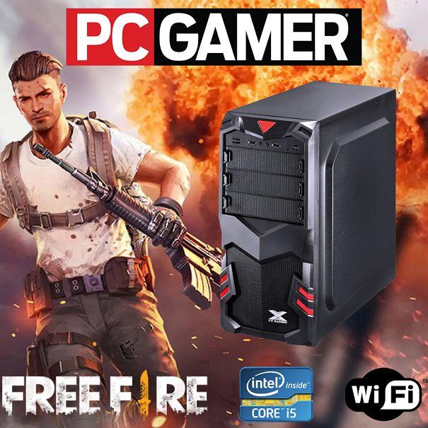 Nova : Pc Gamer Core i5 8gb Hd 500 Wifi Fonte 500w PLACA DE VÍDEO AMD RADEON 2GB Windows 07