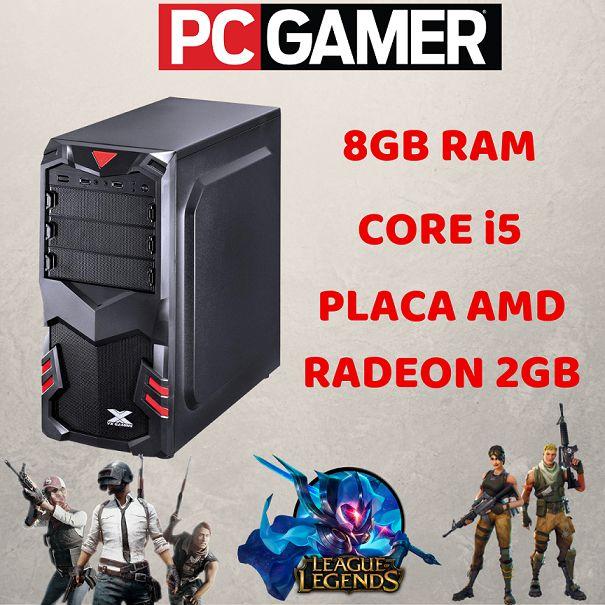 Pc Gamer Intel i5 8gb Hd 500 Ssd 120 Windows 10 Wifi