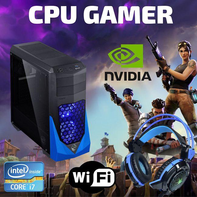 Cpu Gamer I7 16gb Ram Ssd 960 Wifi + Nvidia Geforce 1060 6gb