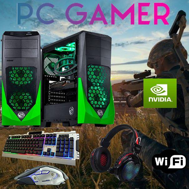Cpu Gamer I7 3770 16gb Ram 1tb Ssd240 Gtx 1050ti + Kit Gamer