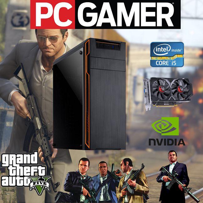 Cpu Gamer I5 8gb Hd500 Ssd120 Wind.10 + Nvidia Gts 450 2gb!