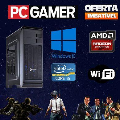 Cpu Gamer i5 3.2 Ghz 8gb Ram 1tb Fonte 500w + Placa Off 1gb!