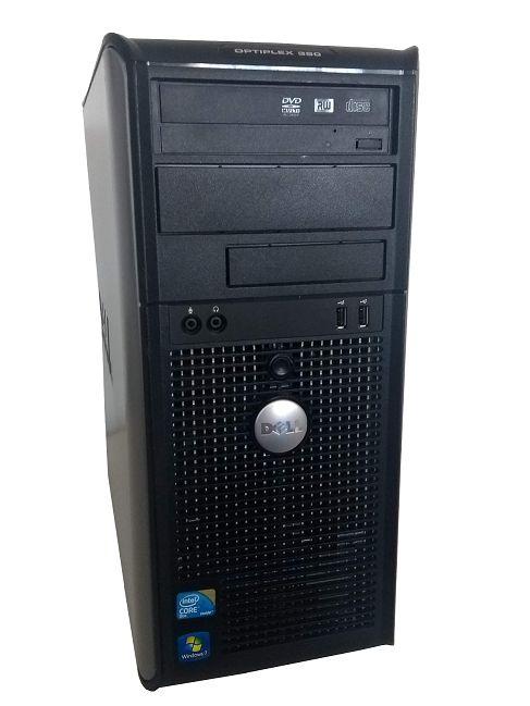 Usado : Computador  Dell Optiplex 380 Core 2 Duo 8GB Ram DDR2  SSD 240GB Windows 07