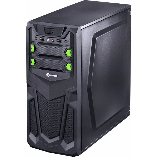 Pc Montado Novo / Celeron / 4gb / Hd 500gb / Windows 10 Pró