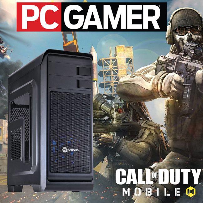 Pc Gamer Intel i3 8gb Ram Hd 500gb Ssd120 Wifi + Vídeo 2gb