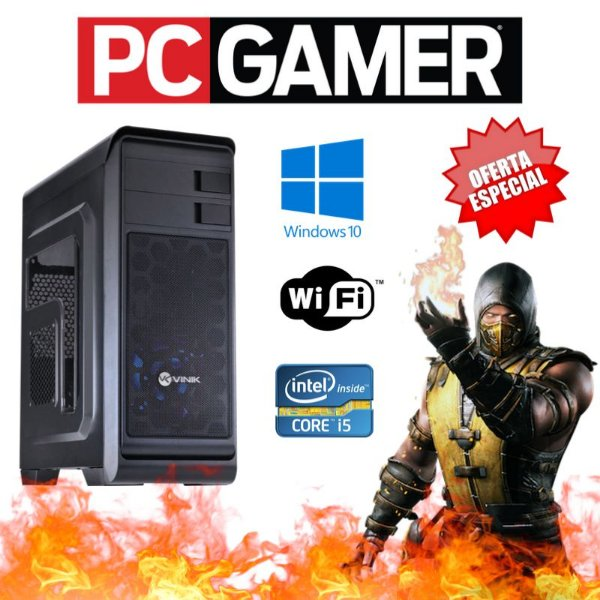 Cpu Gamer Intel i5 8gb Hd 500 Hdmi Wifi Placa de Vídeo 2gb