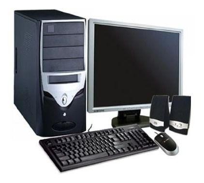 Cpu Completa 8gb Hd320 + Monitor 17 + Teclado E Mouse