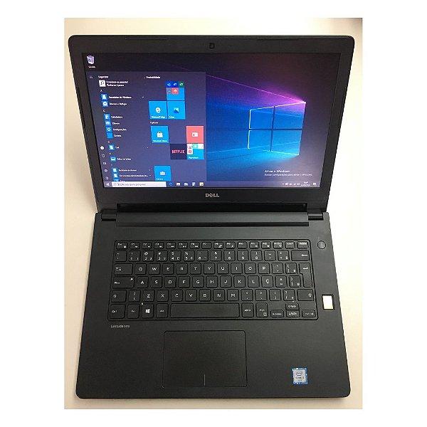 Notebook Dell Usado - Core i3 6100u 8gb Hd 500gb Windows 10