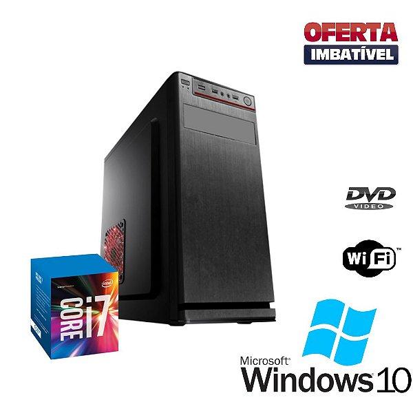 Cpu Core i7 4ª Gen 8gb Hd 500 Windows 10 Pró - Gravador !