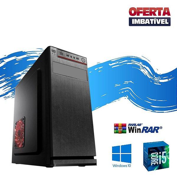 Cpu Desktop Core i5 4gb Hd 2tb Windows 10 - Programas - Nova
