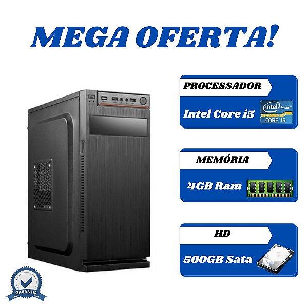 Cpu Montada Core i5 4gb 500gb Windows 10