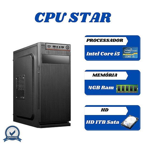 Cpu Montada Core i5 4gb 1tb Windows 10