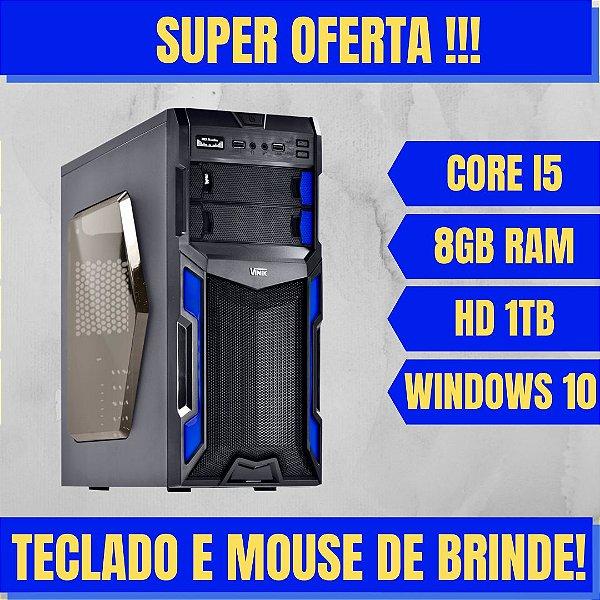Cpu Desktop Intel Core i5 8GB HD 1TB Windows 10