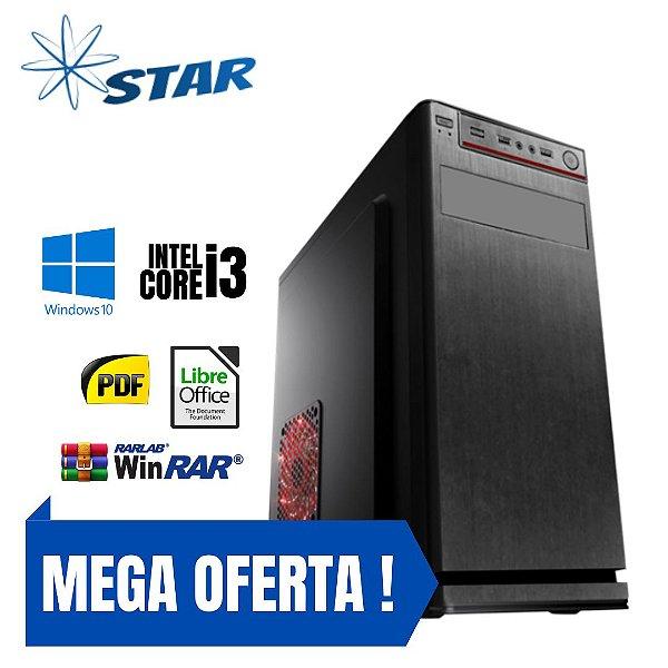 Cpu Montada Pronta P/ Uso Core i3 4gb Hd 500 Windows 10