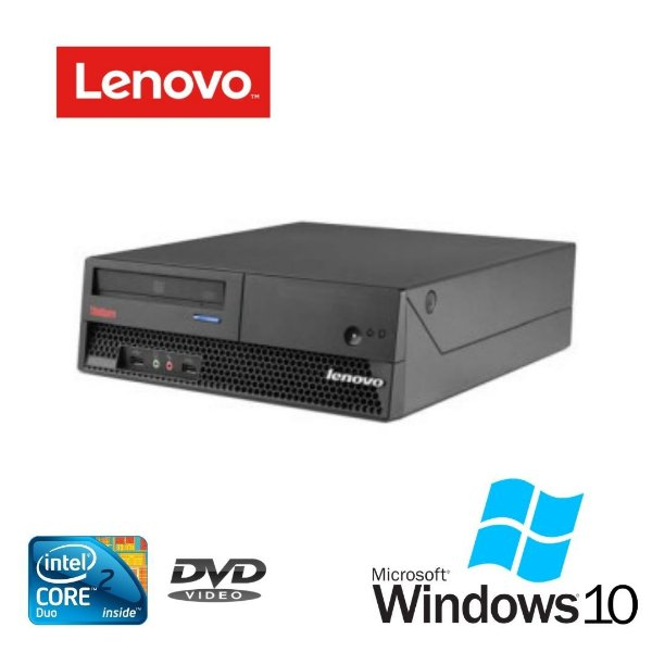 Cpu Lnv 9196 Intel Core 2 Duo 4gb Hd 500gb Windows 10 Pró