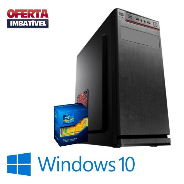 Cpu Montada Core i5 4gb Ram Hd 1tb _ SSd 240gb Windows 10