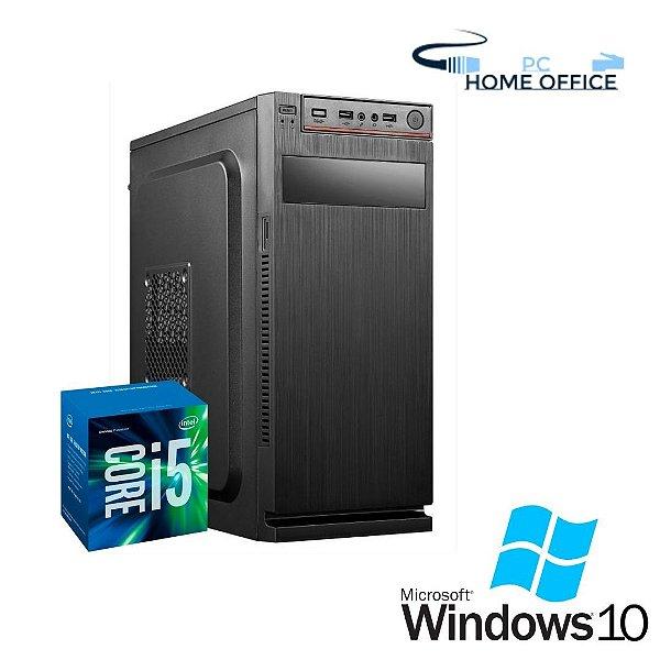 Cpu Montada Core i5 8gb Ram Hd 1tb Windows 10 Pró - Gravador de DVD - Teclado e Mouse + Programas Basicos