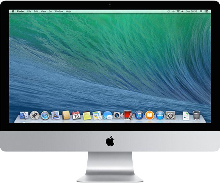 iMac - Apple A1814 (2013) i5 Quad Core 2,7 Ghz 8gb LPDDR3 Hd 1tb macOs Catalina + Iris Pró - Thunderbolt 3 - 21,5 Polegadas - Semi Nova !
