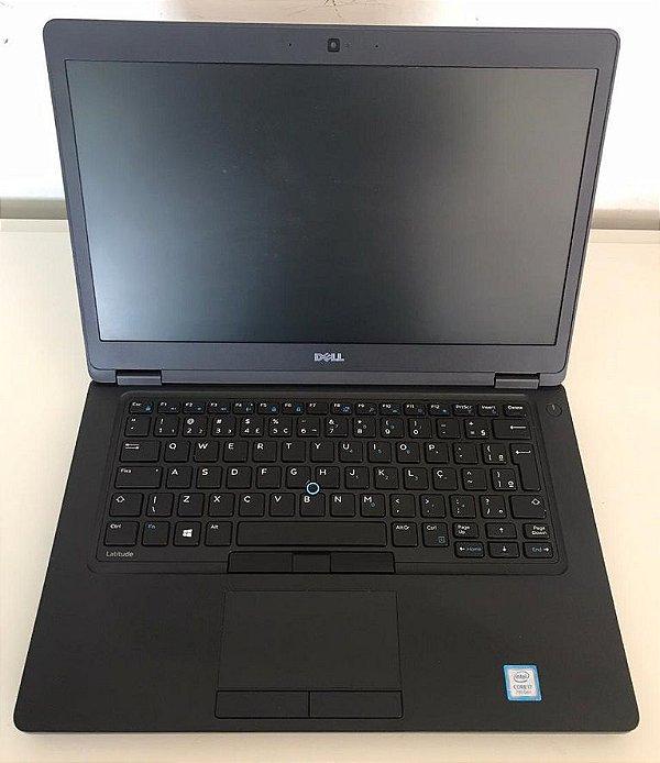 Notebook Dell Core i7 8gb Ssd M2 256gb Hdmi Win10 - Seminovo