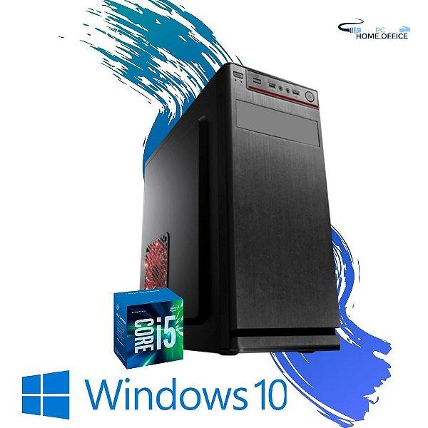 Cpu Desktop Core i5 4gb Ram Hd 500gb Win10 Dvd Programas !