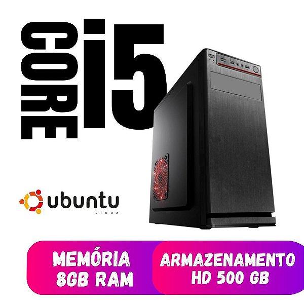 Cpu Desktop Core i5 8gb Ram Hd 500 Linux Ubuntu - Promoção