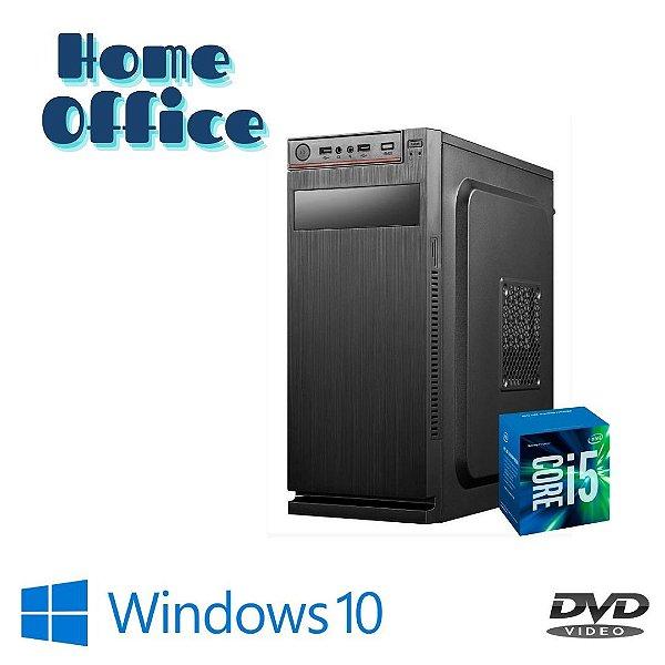 Pc Montada Core i5 8gb Ram 240gb SSd Windows 10 + Dvd