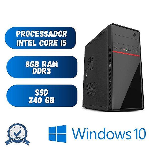 Cpu Core i5 - 8gb Ram SSd 240 - Windows 10 Pró