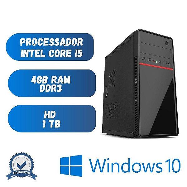 Computador Core i5 4gb Ram Hd 1tb Win10 + Programas Basicos