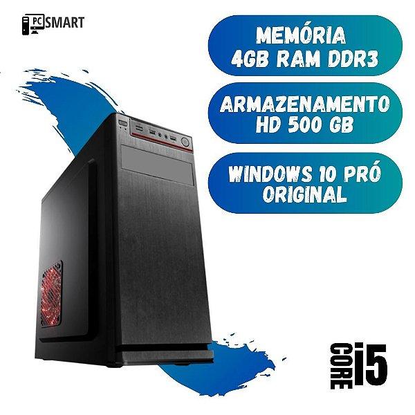 Cpu Montada Core i5 4gb Hd 500 Windows 10