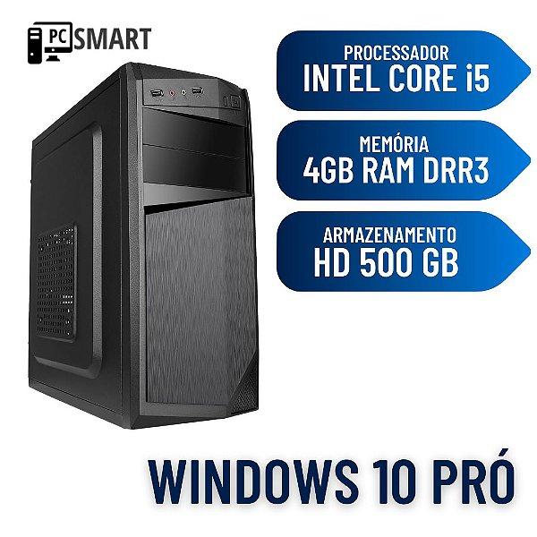 Computador Pc Desktop Cpu i5 4gb Ram 500gb Windows 10 Dvd !
