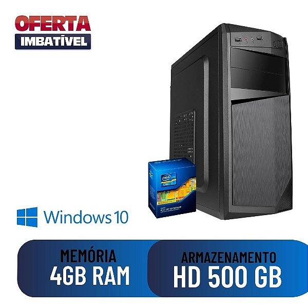 Computador Cpu Desktop Pc Star i5 8gb SSd 480gb Windows 10.