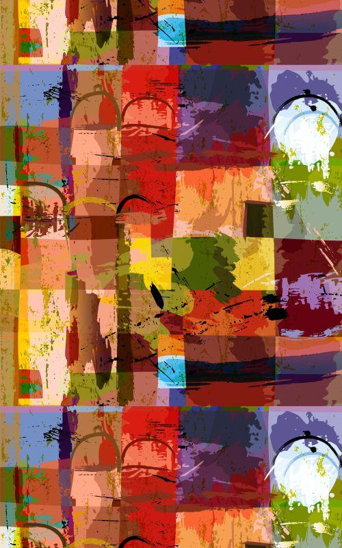 Papel de Parede Abstrato - PR01