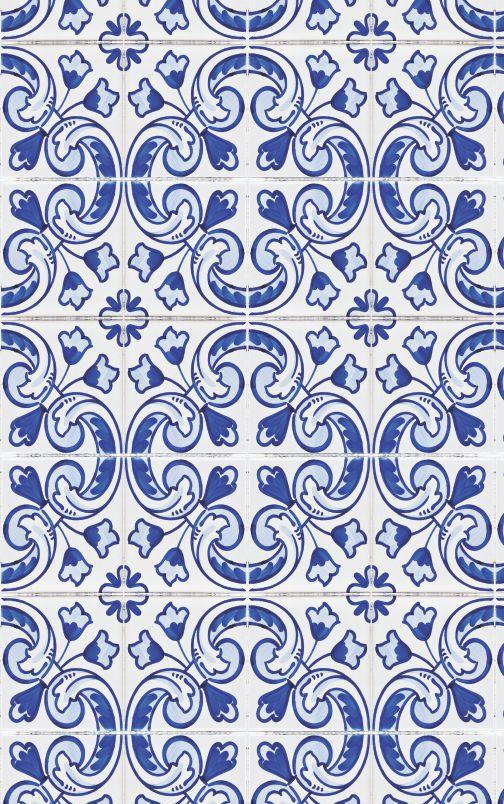 Papéis de Parede Azulejo - PR217