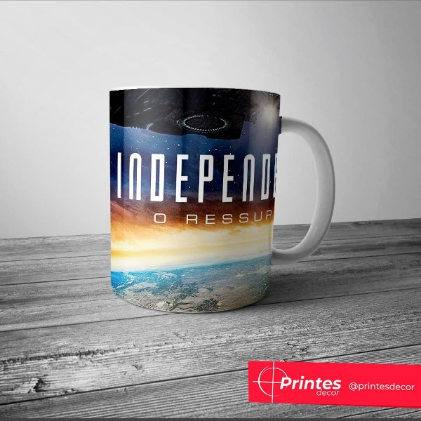 Caneca Independece Day Modelo 2