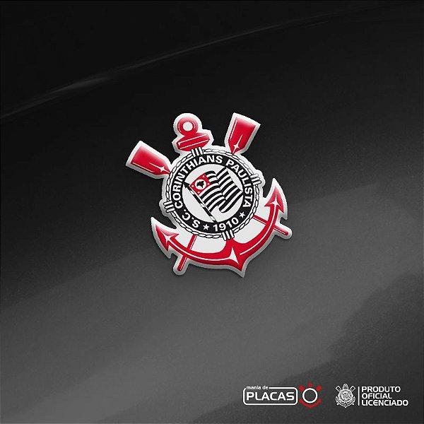 Adesivo RESINADO - Escudo Oficial Corinthians