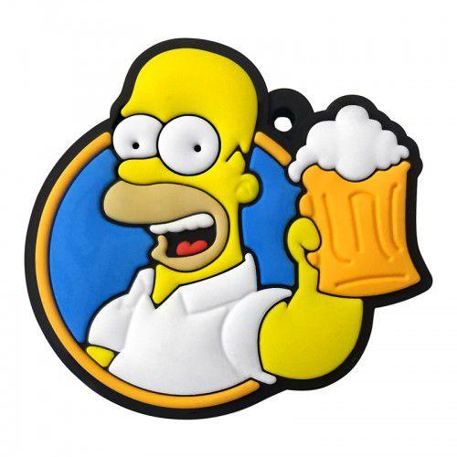 Kit De Chaveiros Emborrachados Os Simpsons