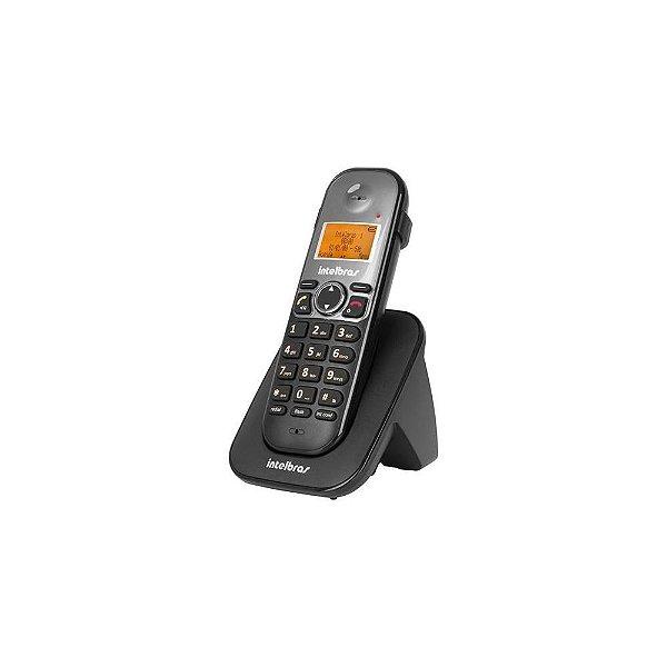 TELEFONE S/FIO TS 5121 RAMAL PRETO INTELBRAS-THO 4125121