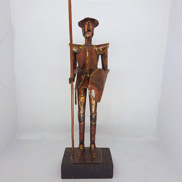 Escultura Dom Quixote de La Mancha