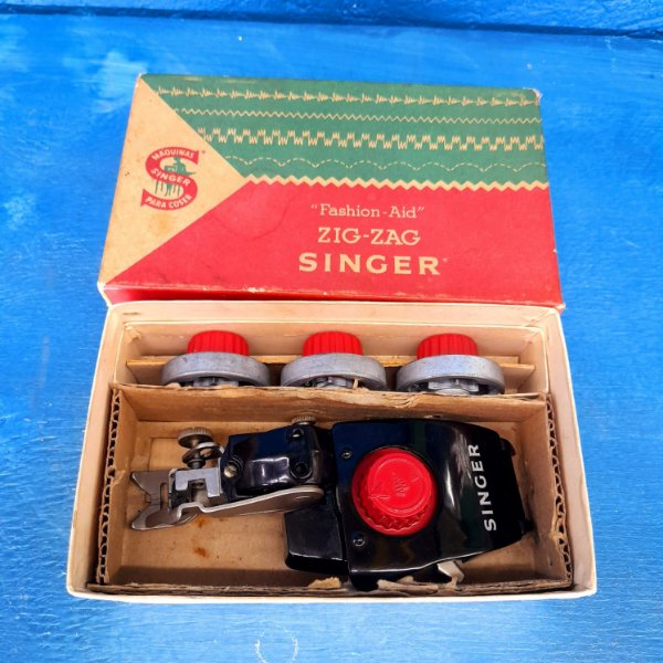 Adaptadores Zig Zag Singer Fashion Aid 4 Discos