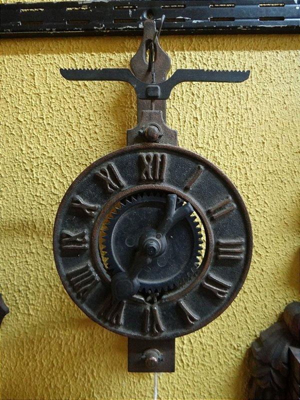 Relógio De Tempo Todo Em Metal