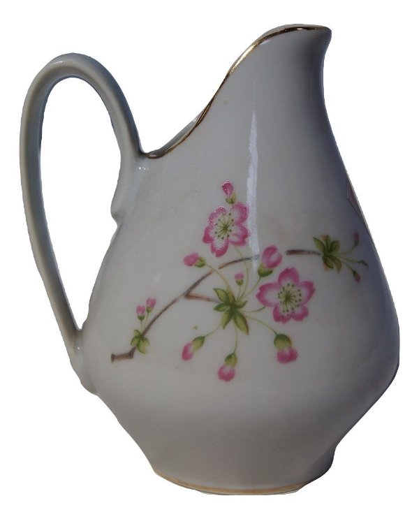 Antiga Mini Leiteira De Porcelana Real S. Paulo